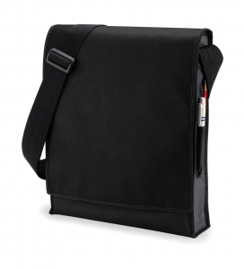 Budget Vertical Messenger Bag Black One Size