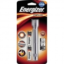 Energizer Taschenlampe E300695900 Metall LED +2AA silber