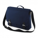 Classic Satchel Messenger French Navy One Size
